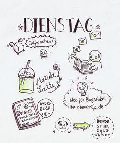 #sketchnotesdiary - jeden Tag eine Sketchnote