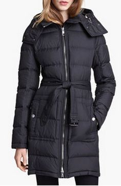 Burberry Brit 'Metcalf' Down Coat