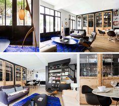 Дом в Париже - Interior Design And Decoration