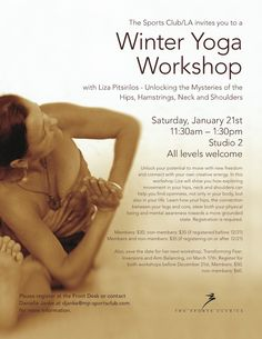 yoga flyer - Google Search