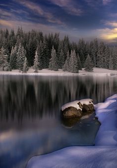 Colorado snow-capped scenery  ♥ ♥ www.paintingyouwithwords.com