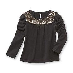 WonderKids Infant & Toddler Girl's Long-Sleeve Sequin T-Shirt - Baby - Baby & Toddler Clothing - Tops