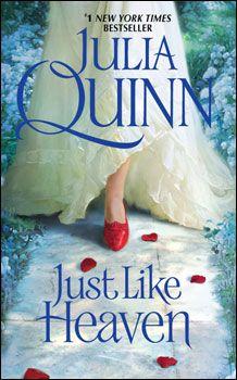 Bebe's Review of Julia Quinn's novel, Just Like Heaven  http://www.readinguntilifallasleep.com/just-like-heaven-by-julia-quinn/