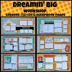 Dreamin' Big workshop from Chris' Creative Pages