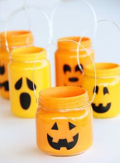 12 Ways to Use Mason Jars in Your Halloween Decor via Brit + Co.
