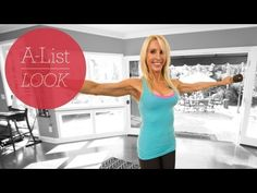 Hangover Workout | The A-List Look With Valerie Waters:  20 Step Ups, 15 Squat + Shoulder Presses, 15 Bent Over Rows, Valslide Side Lunges, 12 Lateral Raises ... (12/28/12, 6 mins).