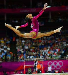Gabby Douglas!   Amazing talent, perseverance, and focus!