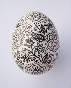 Sharpie doodle Easter egg