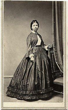 Civil War Era CDV Photo Portrait of A Pretty Woman Hartford Conn Studio | eBay