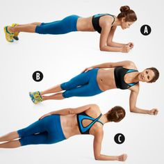 Rolling Plank http://www.womenshealthmag.com/fitness/lower-belly-exercises?slide=2