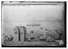Lusitania H.M.S.  Steamer Ocean Passenger Ship in by GalleryLF
