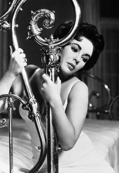 """Elizabeth Taylor in """"Cat on a Hot Tin Roof"""". February 1959. Hands down, best movie ever made."""