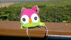 Sara's Crochet Creations: Hat season! Owl hat