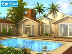 The Sims Resource: Whitcool Fully Furnished by BrandonTR • Sims 4 Downloads