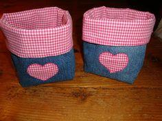 Sandra's Keus: Zakjes van een oude spijkerbroek