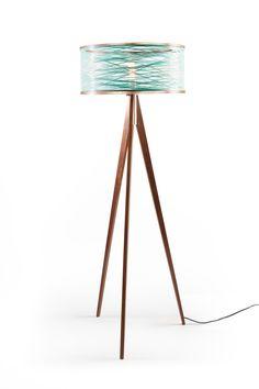 Just Modern, Inc.   Tripod Floor Lamp   Orange, $1,150.00  (http://www.justmoderndecor.com/lighting/tripod Orange Floor Lamp/)