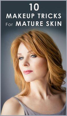 Top 10 Makeup Tricks For Mature Women