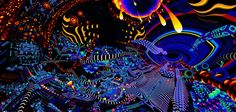 Psychedelic visuals of TAS Twitter Header Trippy, Cute Twitter Headers, Twitter Header Aesthetic, Twitter Header Photos, Anime Cover Photo, Twitter Cover Photo, Youtube Banner Backgrounds, Youtube Banners, Fractal Art