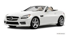 Mercedes-Benz SLK in the color I purchased in February.