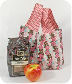 These make great gifts! Mini grocery bag by keyka Lou.