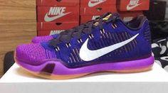 Nike Kobe 10 Elite Low Blue Purple