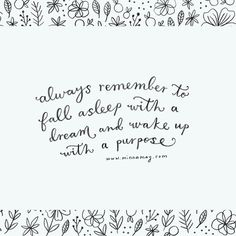 wake up with a purpose | minna may