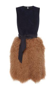 Dress With Fur Skirt