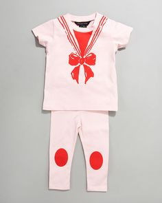 Little Marc Jacobs Trompe L'oeil Kornelia Gift Set. How cute is this? Sizes 3 - 18 months.