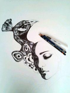 by Gabriel Moreno (Bic Ballpoint Pen)