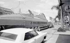 20,000 Leagues Under the Sea ride construction photos | Rediscovering (Walt) Disney