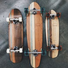 Skateboard decks by globebrand