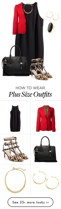 """""""plus size working it"""" by kristie-payne on Polyvore"""
