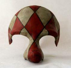 máscara arlequín máscara papel,pintura modelado,pintura