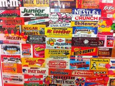 Vintage candy