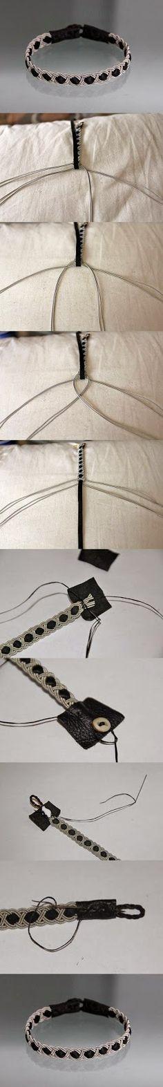 Amazing Do it Yourself ideas: DIY Cute Bracelet