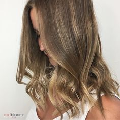 Sandy blonde hair painting :: redbloom salon hair and beauty Hair Color Trends Balayage, Hair Color Highlights, Ombre Hair Color, Sandy Blonde Hair, Blonde Gif, Blonde Balayage, Hair Painting, Brows, Salons