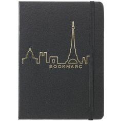 Marc Jacobs Skyline Notebook Paris (28 BRL) ❤ liked on Polyvore featuring home, home decor, stationery, fillers, notebooks, items and writing