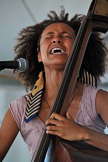 Esperanza Spalding (born October 18, 1984) is an American jazz bassist and singer, who draws upon many genres in her own compositions.    In 2011, she won the Grammy Award for Best New Artist at the 53rd Grammy Awards, making her the first – and only – jazz artist to win the award.