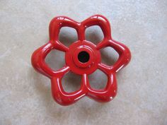 valve drawer pull... i saw some of these already made at joann's for almost 10 bucks each, i want to make some of these for my dresser!