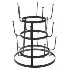 Wire 3 Tier Glass Drying Rack At Cost Plus World Market