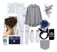 """""""Sin título #603"""" by mafer-cmxxi ❤ liked on Polyvore featuring Chicnova Fashion, Converse, Boohoo, Accessorize and Casetify"""