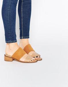 Image 1 ofASOS TOPIC Slip On Mule Sandals