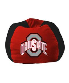 Loving this Ohio State Buckeyes Bean Bag Chair on #zulily! #zulilyfinds