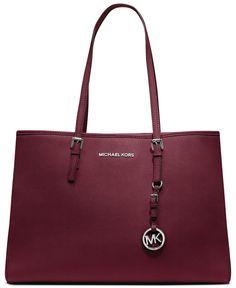 Great work bag!  MICHAEL Michael Kors Handbag, Jet Set Travel East West Tote - MICHAEL Michael Kors - Handbags & Accessories - Macy's