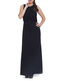 Navy blue maxi dress lime road bed