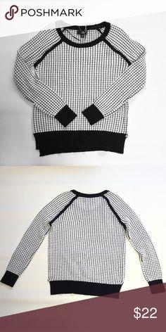 "Ana Boyfriend Sweater Size medium. Bust approx 37"" length approx 23"". 53% cotton 29% rayon 18% acrylic Ana Sweaters Crew & Scoop Necks"