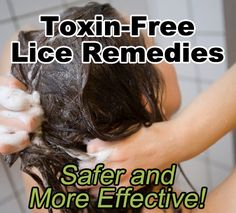 Toxic Free Lice Remedies-hopefully never need this but just in case