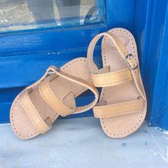 #handmade #leather #girls #greeksandals💃💃