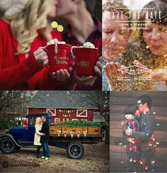 Marry Christmas! ~ Winter Save the Date Ideas