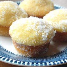 Lemon Yogurt Sugar Muffins